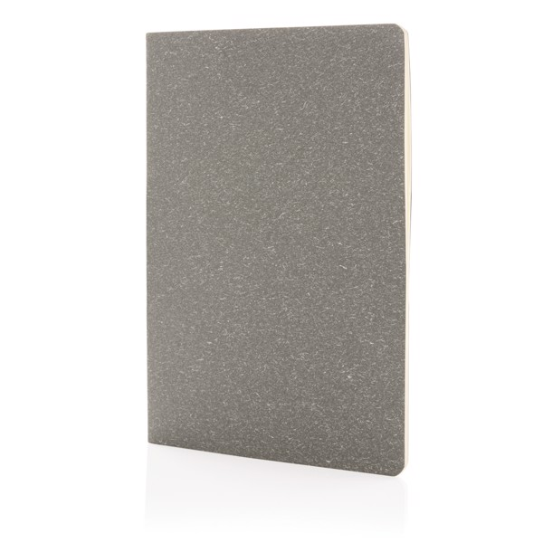 A5 standard softcover slim notebook - Grey
