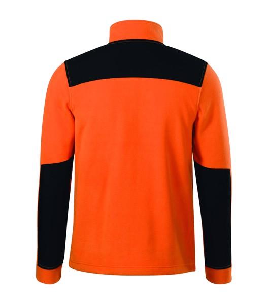 Fleece unisex Rimeck Effect - Oranžová / S