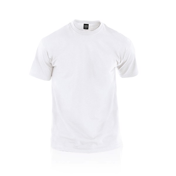 Camiseta Adulto Blanca Premium - Blanco / XL