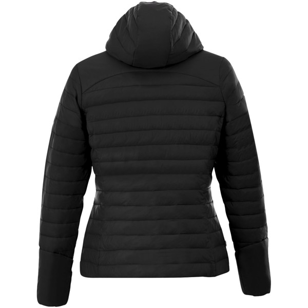 Silverton women's insulated packable jacket - Solid black / M