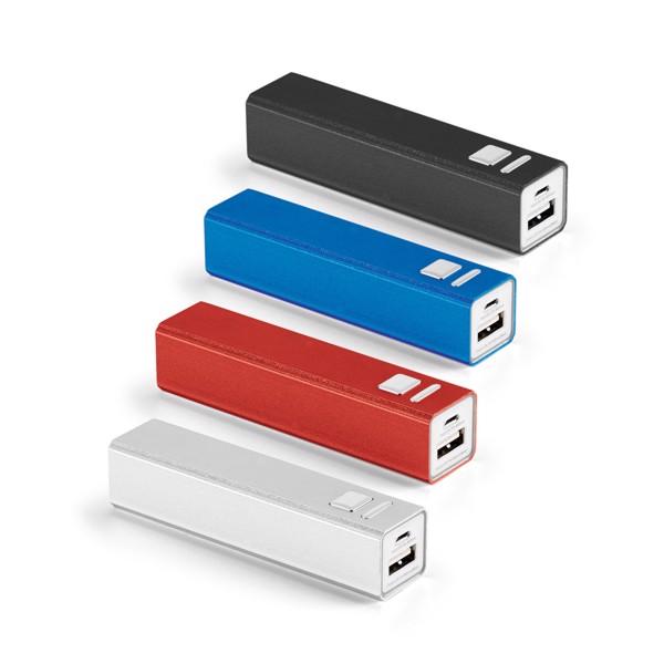 HEVESY. Portable battery 2.200 mAh
