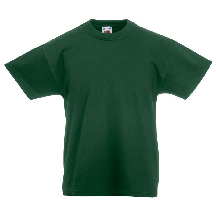 Kinder T-Shirt 165 g/m² Kids Value Weight 61-033-0 - Bottle Green / XL