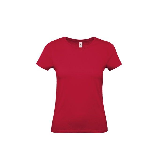T-shirt female 145 g/m² #E150 /Women T-Shirt - Deep Red / M