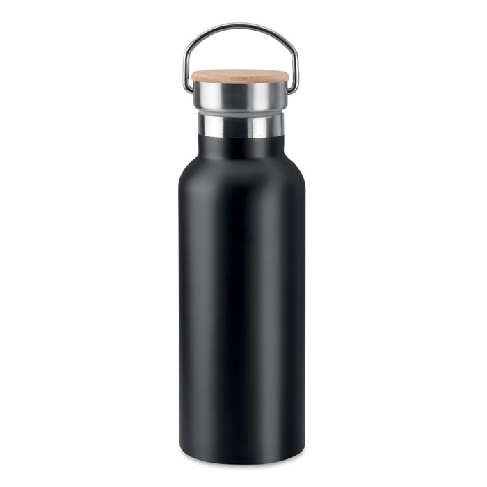 Double wall flask 500 ml Helsinki - Black