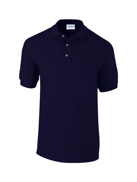Pique Polo Shirt Ultra Cotton - Dark Blue / XXL