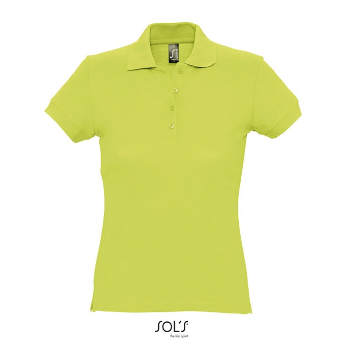 PASSION POLO MUJER 170g - Apple Green / L