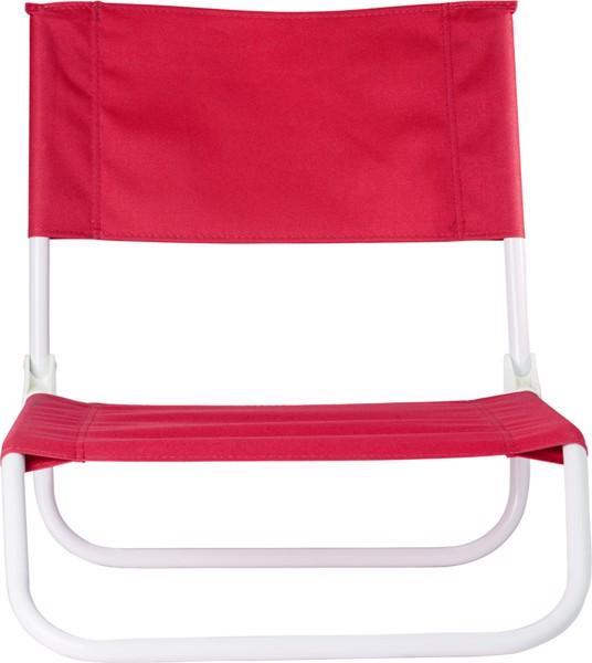 PVC beach chair - Red