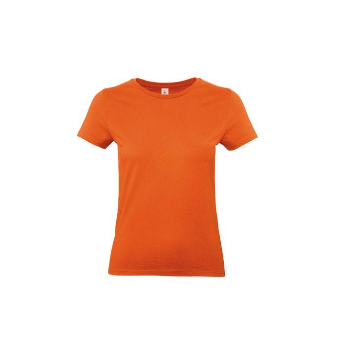 T-shirt female 185 g/m² #E190 /Women T-Shirt - Orange / XXL