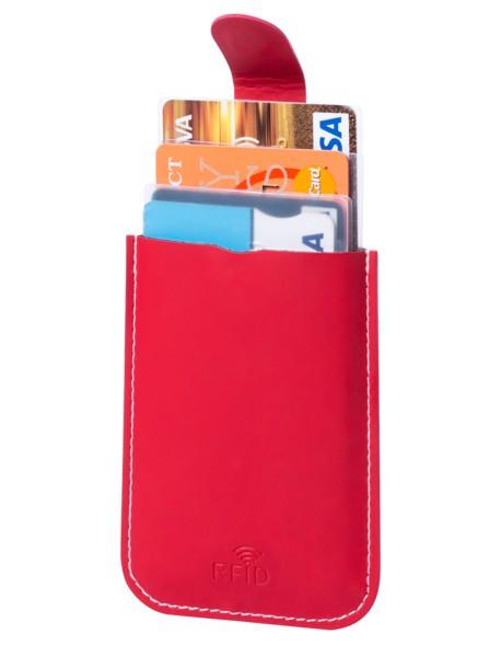 Obal Na Kreditní Karty Serbin - Červená