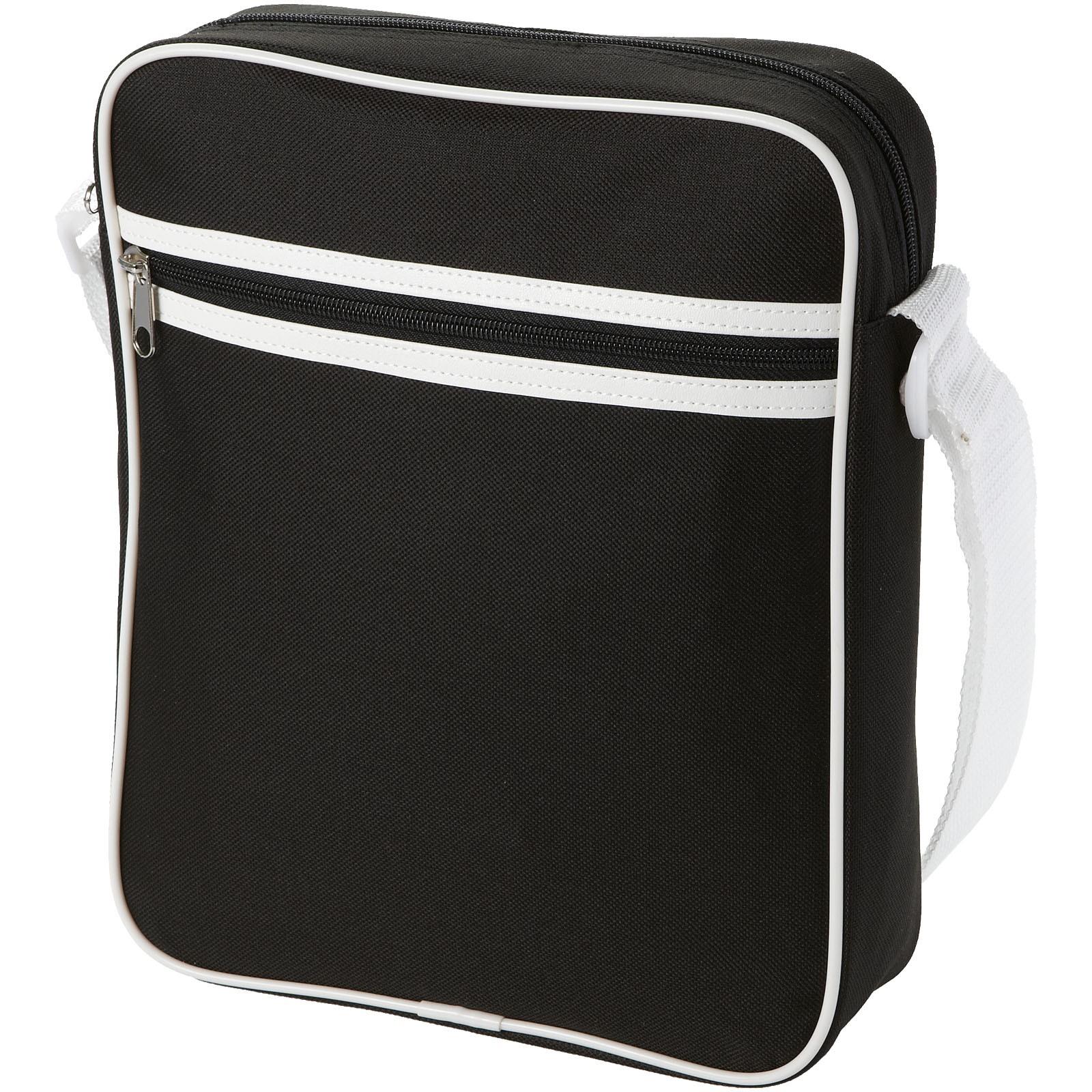 San Diego messenger bag - Solid black