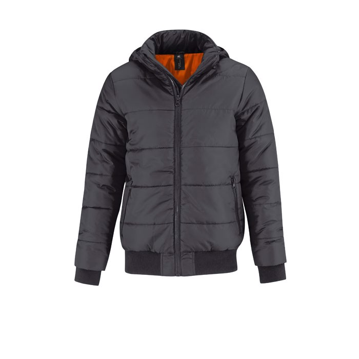 Men's Winter Jacket 325 g/m2 Superhood Men Jm940 - Dark Grey / M