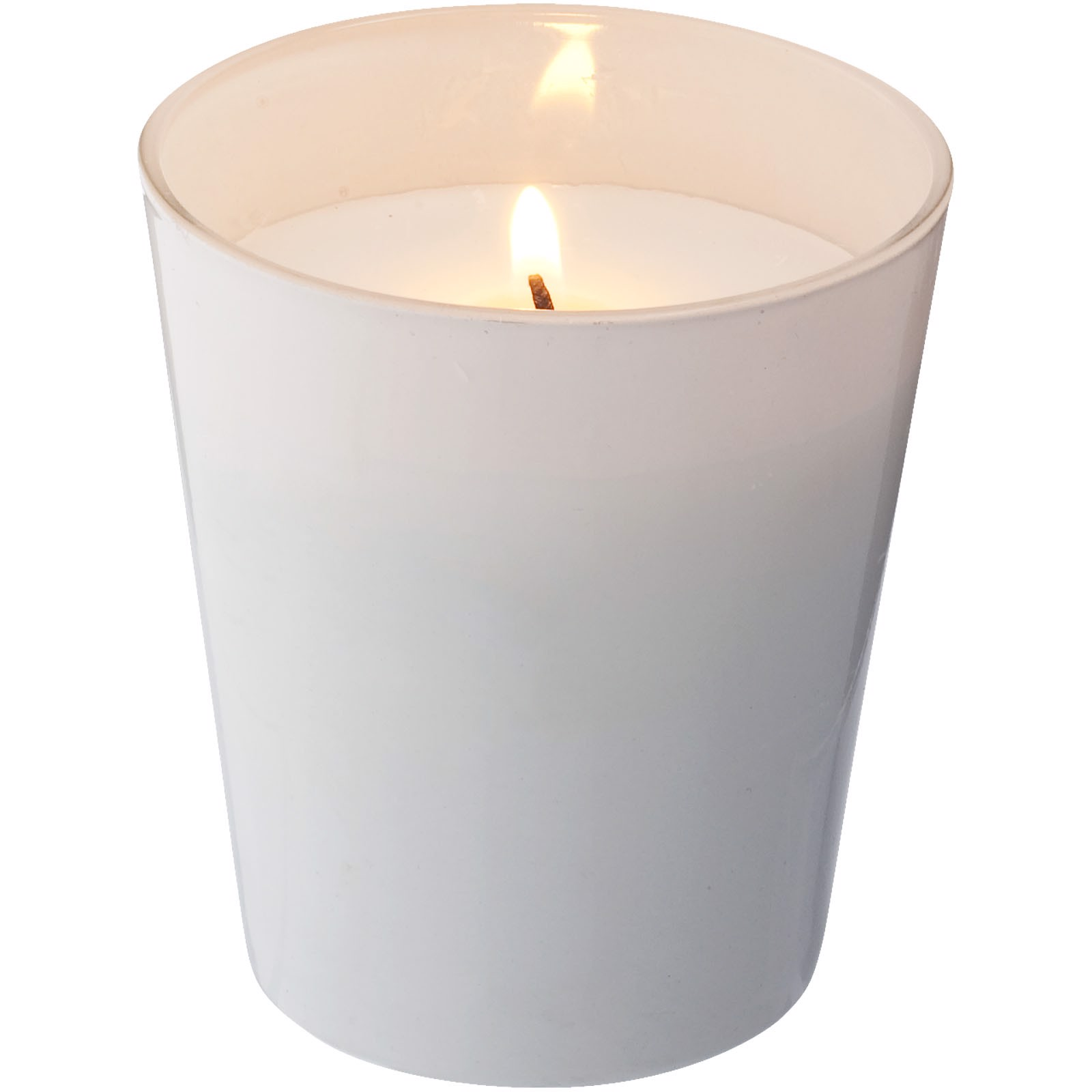 Lunar scented candle - White