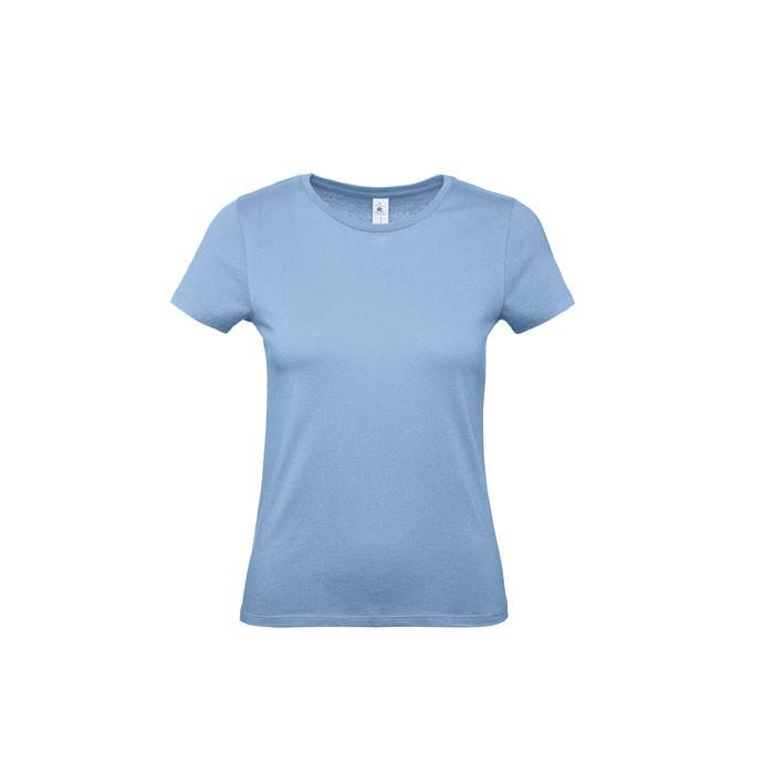 T-shirt female 145 g/m² #E150 /Women T-Shirt - Sky / XS
