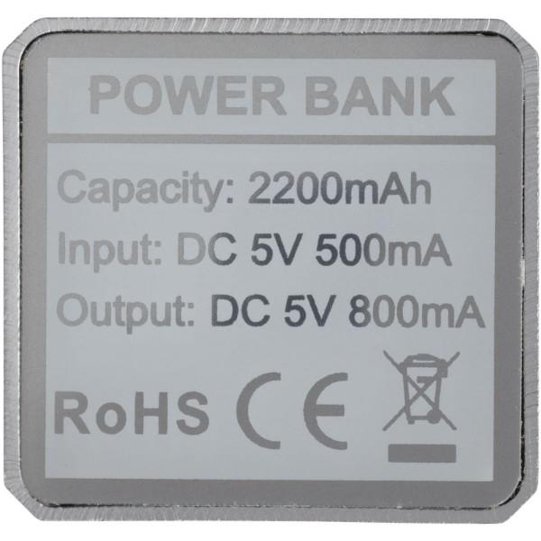 Powerbank WS101 2200/2600 mAh - Silver