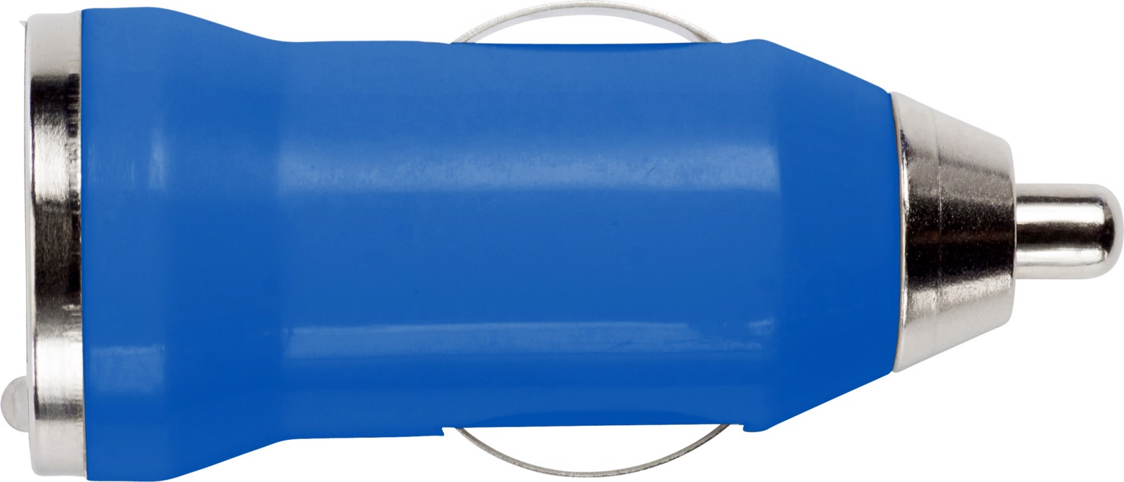 ABS car power adapter - Cobalt Blue