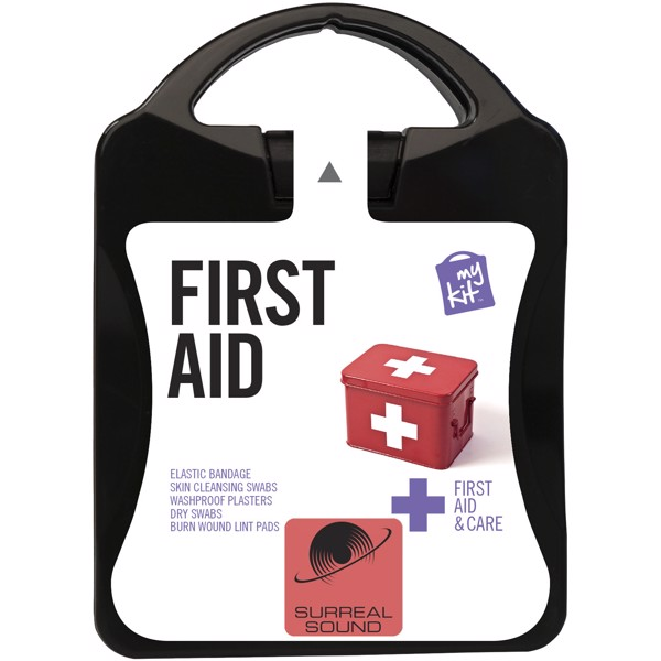 MyKit First Aid - Solid Black