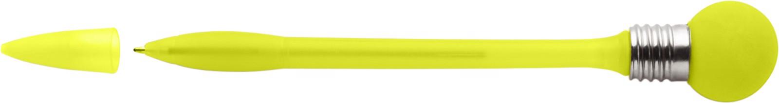 Plastic ballpen - Yellow