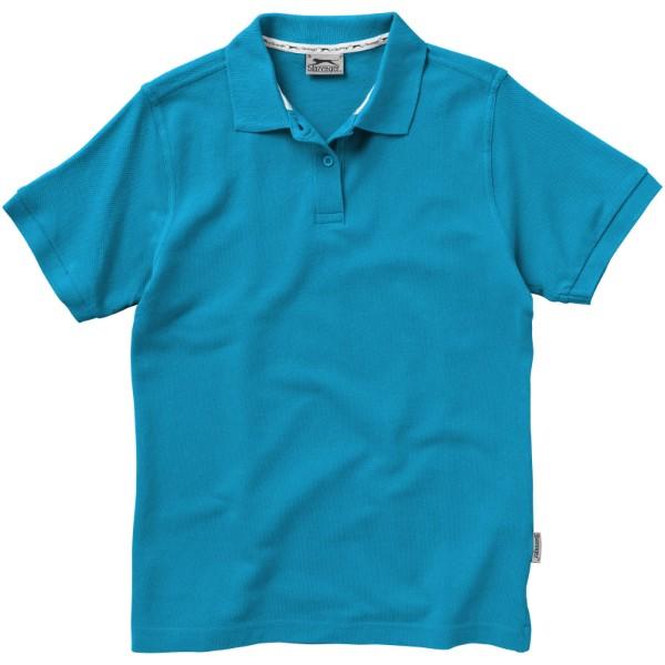 Forehand short sleeve ladies polo - Aqua / L