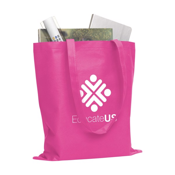 Shopper shopping bag - Fuchsia