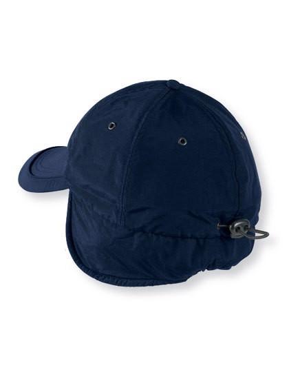 Techno Flap Cap - Navy / One Size