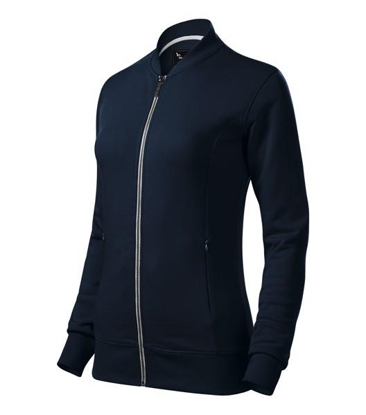 Sweatshirt Ladies Malfinipremium Bomber - Navy Blue / S