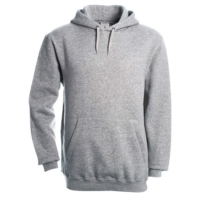 Hooded Sweatshirt - Grey Heather / XXL