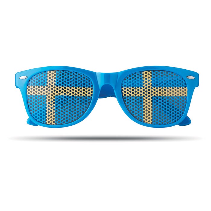 Sunglasses country Flag Fun - Blue