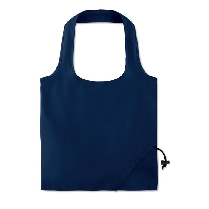 Foldable cotton bag Fresa Soft - Blue
