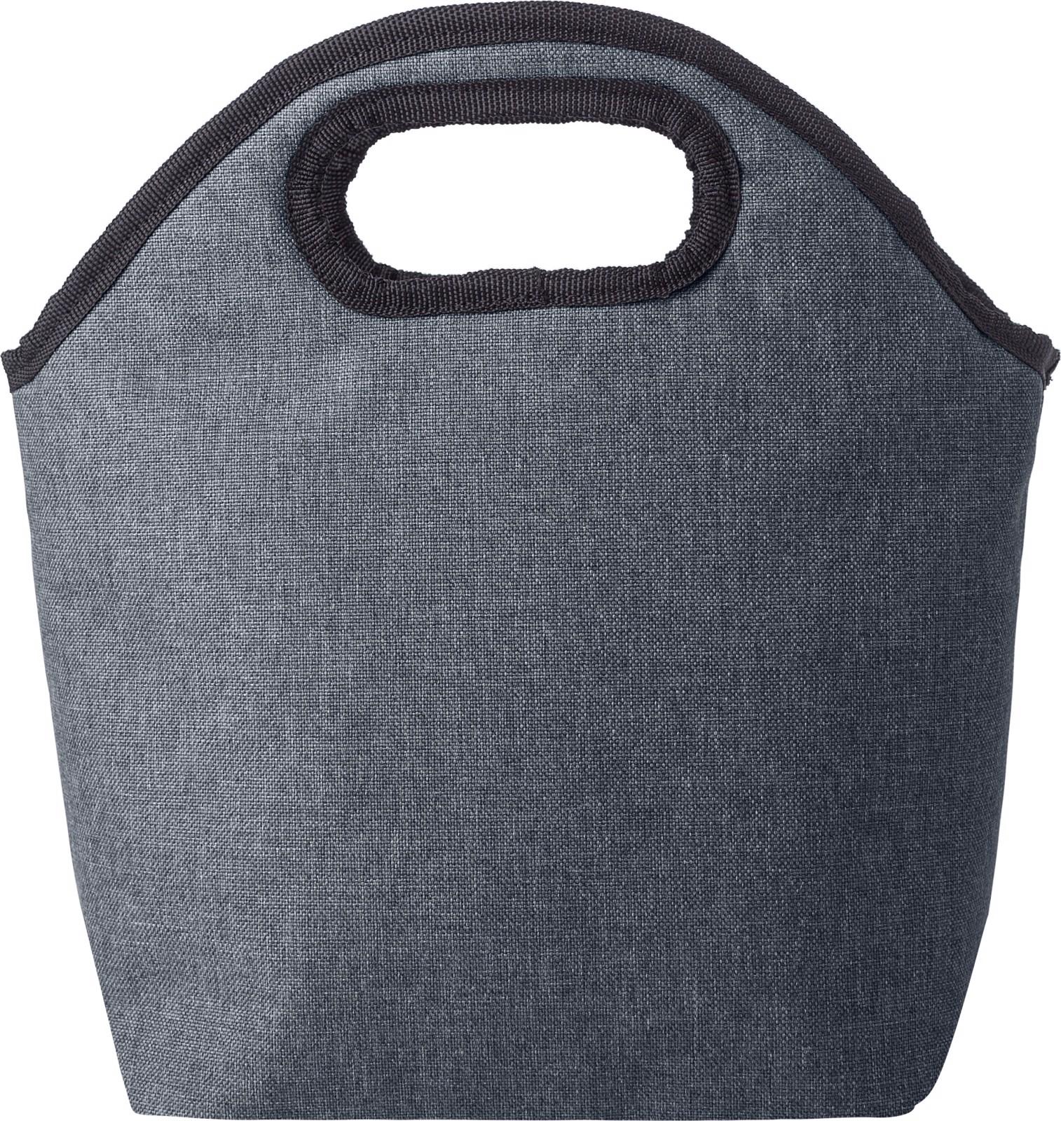 Polycanvas (600D) cooler bag - Black