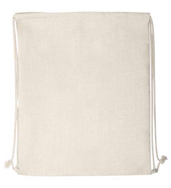 Sublimation Drawstring Bag Lizcom - Beige