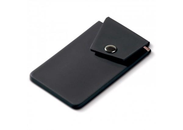 Cardholder smartphone button - Black
