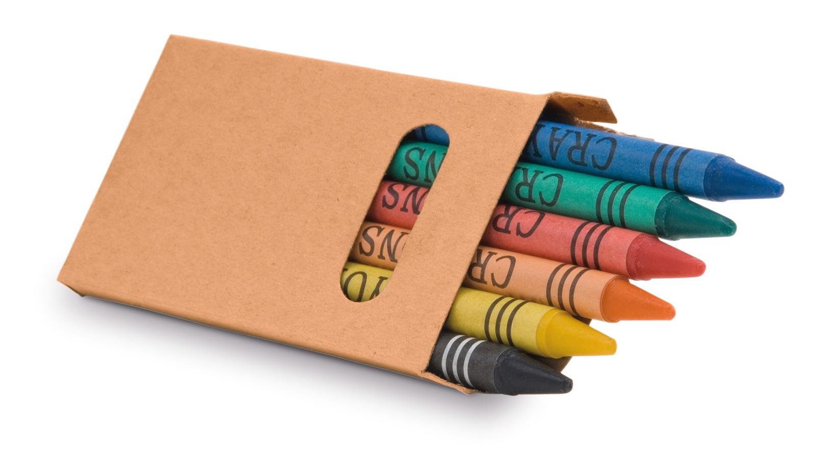 EAGLE. Κουτί με 6 κραγιόν