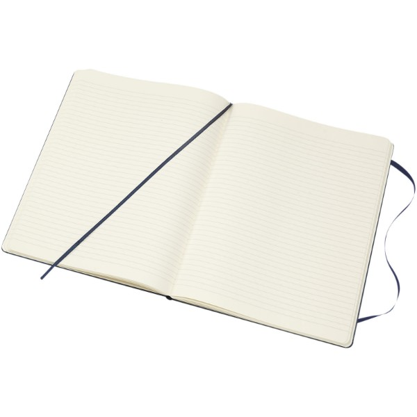 Classic XL hard cover notebook - ruled - Sapphire blue