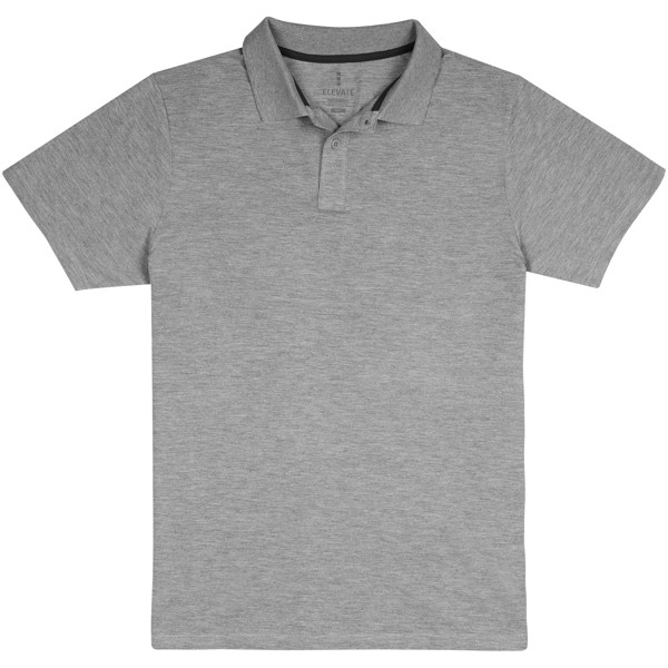 Primus short sleeve men's polo - Grey melange / XXL