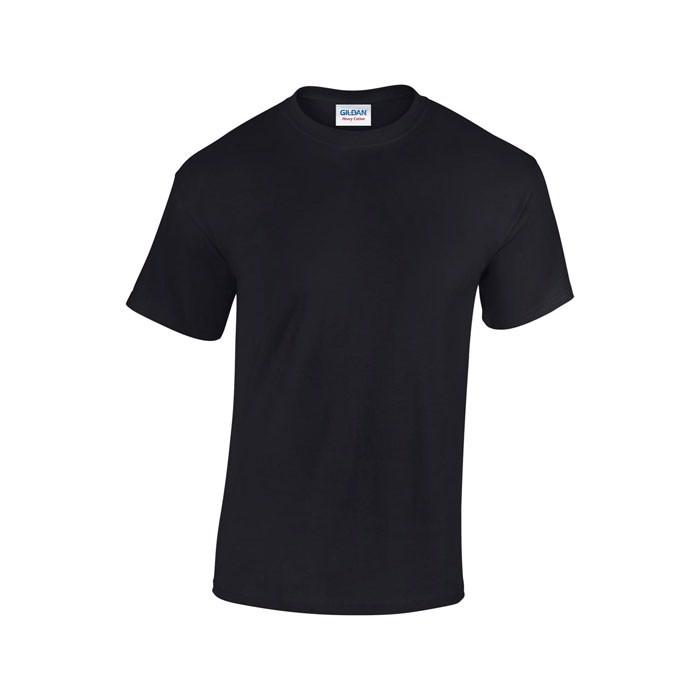 Tlusté tričko 185 g/m² Heavy T-Shirt 5000 - Black/Black Opal / XXL