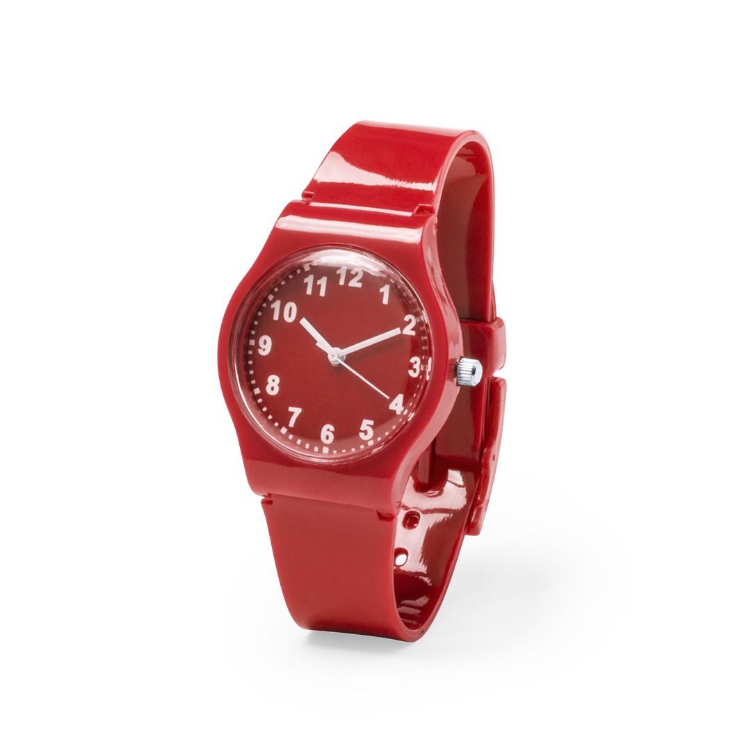 Reloj Suva - Rojo