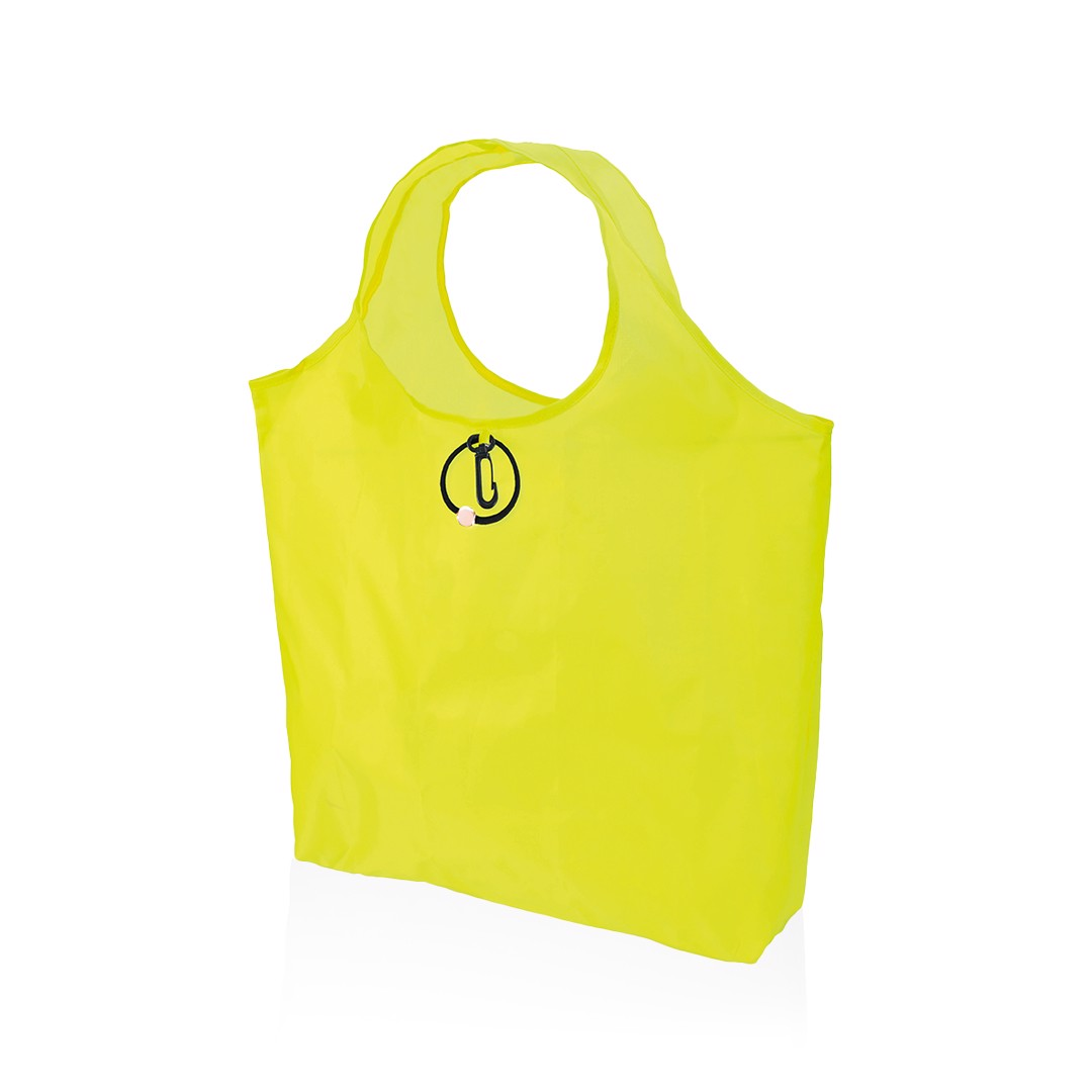 Bolsa Plegable Altair - Amarillo Fluor