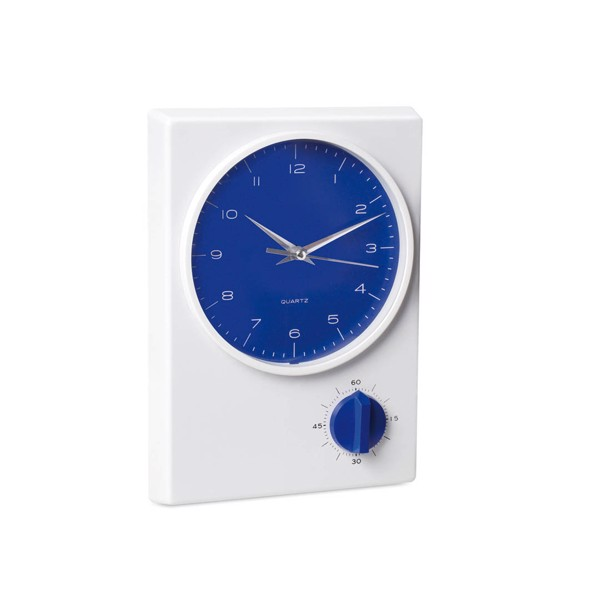 Wall Clock Timer Tekel - Blue
