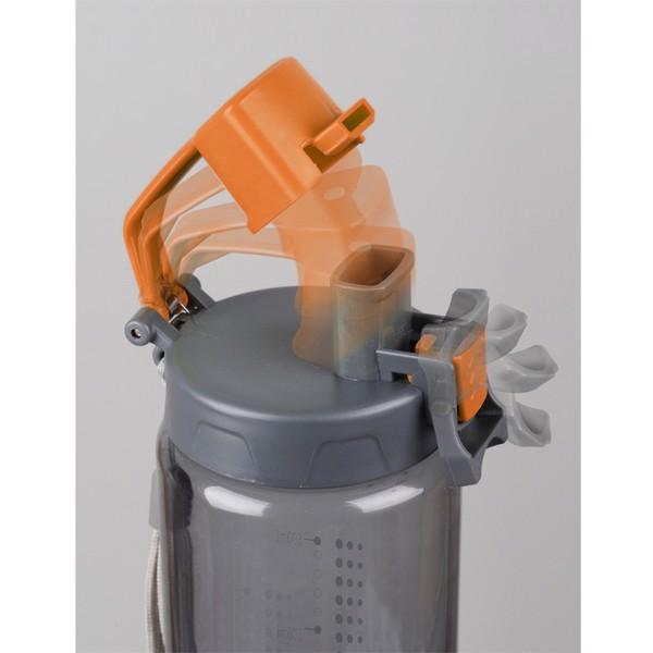 Bidon Feelsogood 600 ml - Pomarańczowy / Szary