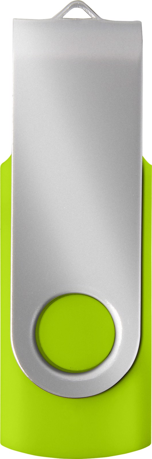 ABS USB drive (16GB/32GB) - Green / Silver