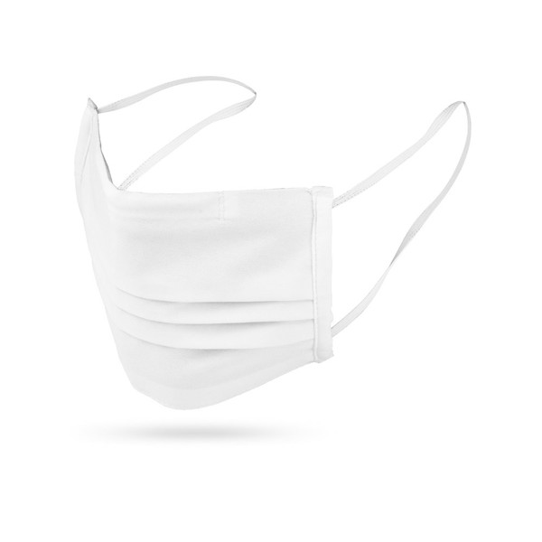 CELAN . Reusable textile mask - White