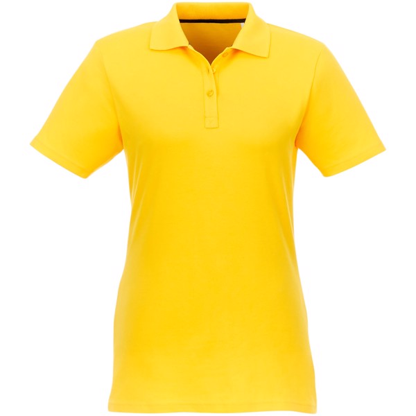 Helios short sleeve women's polo - Yellow / L