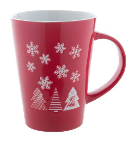 Porcelánový Vánoční Hrnek Perala - Bílá