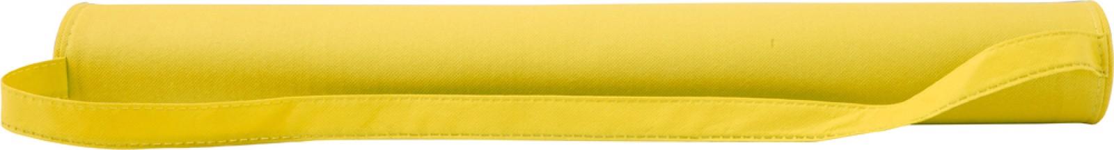 Nonwoven (80 gr/m²) beach mat - Yellow