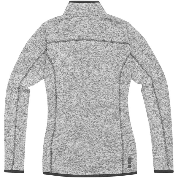 Tremblant ladies knit jacket - Heather grey / M