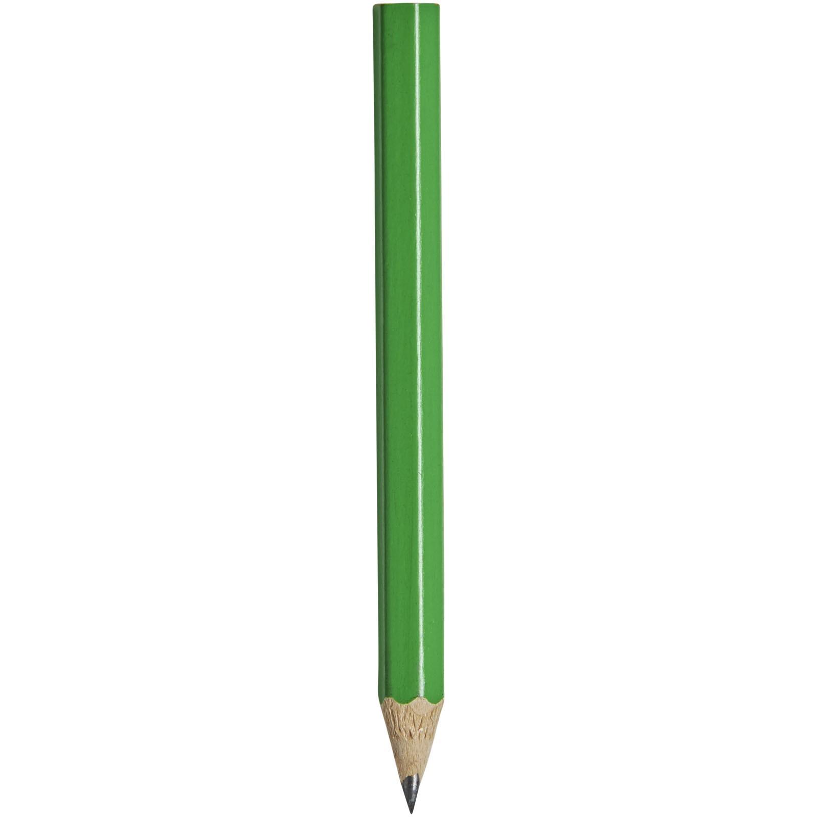 Minitužka s barevným tělem Cosimo - Zelená