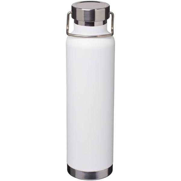 Thor 650 ml Kupfer-Vakuum Isolier-Sportflasche - weiss