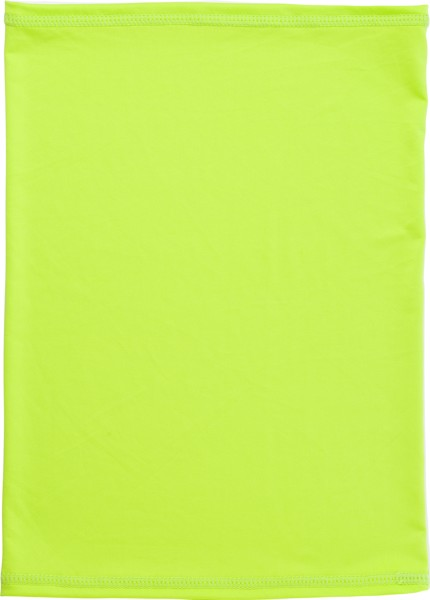 Multifunctional polyester scarf and mask - Lime