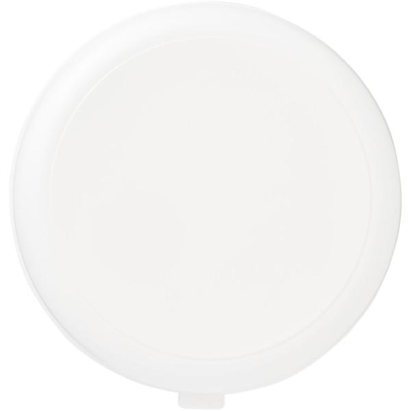 Miku round plastic pasta box - White