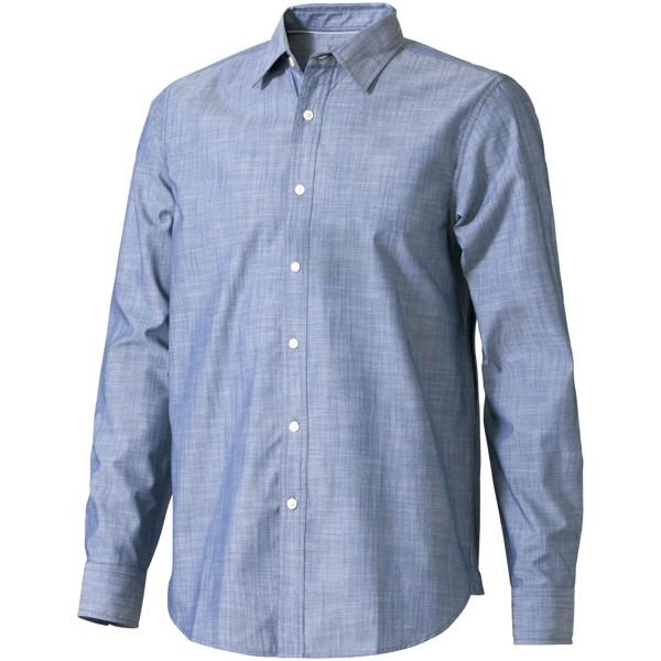 Košile s dlouhým rukávem Lucky - Džínovina / XL